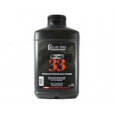 Alliant Reloder 33 Smokeless Powder- 8 Lbs. (HAZMAT Fee Required)