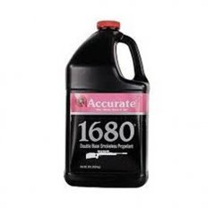 Accurate 1680 Smokeless Powder- 8 Lbs. (HAZMAT Fee Required)