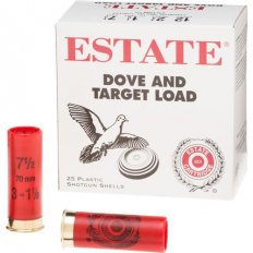 "Estate Dove and Target Load 12 Gauge 2-3/4"" 1 1/8 oz #7-1/2 Shot- Box of 25"