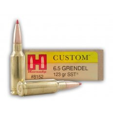 Hornady Custom 6.5 Grendel 123 Gr. SST- Box of 20