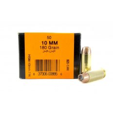HSM 10mm 180 Gr. Speer JHP-UHP- Box of 50