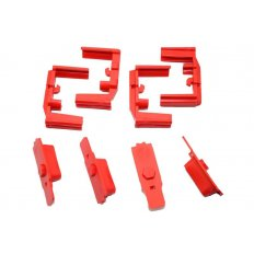 Hexmag HexID Color Identification System- 4 Pack- Lava Red