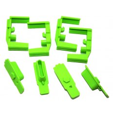 Hexmag HexID Color Identification System- 4 Pack- Zombie Green