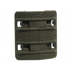 MagPul XTM Enhanced Modular Full Profile Picatinny Rail Cover Polymer- Package of 4- ODG