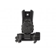 MAGPUL Flip Up Adjustable Rear Sight MBUS Pro LR AR-15- Steel- BLACK