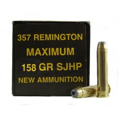 PCI .357 Remington Maximum 158 Gr. Semi-Jacketed Hollow Point- Box of 50