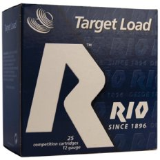 "Rio Target Load 12 Gauge 2-3/4"" 1-1/8oz #7.5 Shot- Box of 25"
