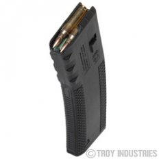 Troy Industries Battlemag AR-15 .223 Remington 30-Round Magazine- Polymer- Black