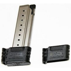 Springfield Armory XDS 9mm Luger 9-Round Magazine- Stainless Steel with Backstrap 1 and 2