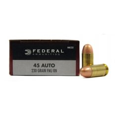 Federal Champion .45 ACP 230 Gr. Full Metal Jacket- Box of 50