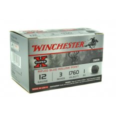 "Winchester Super-X 12 Gauge 3"" 1 oz Rifled Slug- Box of 15"
