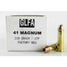 GLFA .41 Magnum 210 Gr. Hornady XTP Hollow Point- Box of 20