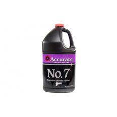 Accurate No. 7 Smokeless Powder- 8 Lbs. (HAZMAT Fee Required)