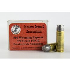 Jamison Prowler Grade .500 Wyoming Express 370 Gr. Lead Round Nose Flat Point- Box of 20