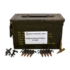 Military Surplus .308 Winchester 142 Gr. Full Metal Jacket- Ammo Can of 400 AM2953