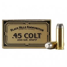 Black Hills Cowboy Action .45 Colt 250 Gr. Round Nose Flat Point- Box of 50