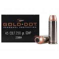 Speer Gold Dot .45 Colt 250 Gr. GDHP - Box of 20