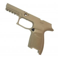 SIG SAUER P250/P320 Grip Module Assembly, Subcompact, Railed, Medium, 9mm, .357 Sig, .40 S&W- FDE