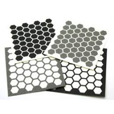 Hexmag Magazine Grip Tape- Single Sheet- Gray