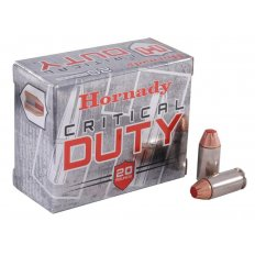 Hornady Critical Duty .40 S&W 175 Gr. FlexLock- Box of 20