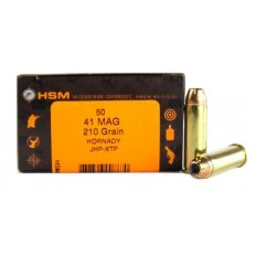 HSM .41 Magnum 210 Gr. Hornady XTP Jacketed Hollow Point-41-2-N