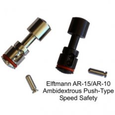 Elftmann Tactical AR-15 / AR-10 Ambidextrous Push-Type Speed Safety
