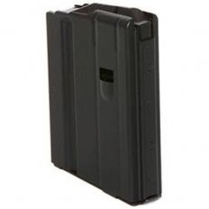 C Products Defense AR-15 7.62x39mm 10-Round Magazine with Anti-Tilt Follower- Black Steel 1062041175CPD