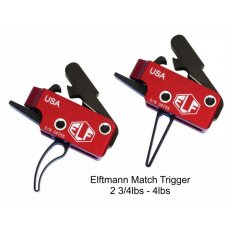 Elftmann Tactical AR-15 Match Drop-In Curved Trigger  MATCHC