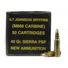 PCI 5.7mm Johnson 40 Gr. Sierra Plated Soft Point