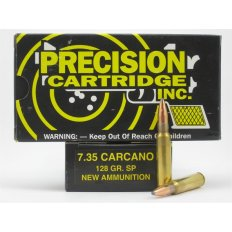PCI 7.35x51 Carcano 128 Gr. Soft Point- Box of 20