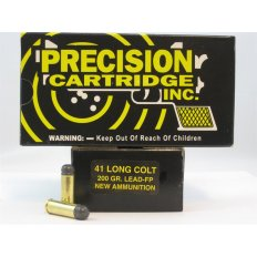 PCI .41 Long Colt 200 Gr. Lead Flat Point- Box of 50
