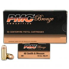 PMC Bronze .40 S&W 165 Gr. FMJ-FP- Box of 50
