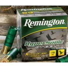 "Remington HyperSonic Steel 12 Gauge 3"" 1-1/4 oz BB- Box of 25"