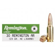 Remington UMC .30 Remington AR 123 Gr. Full Metal Jacket- Box of 20