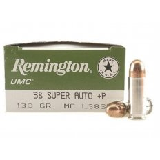Remington UMC .38 Super + P 130 Gr. MC - Box of 50