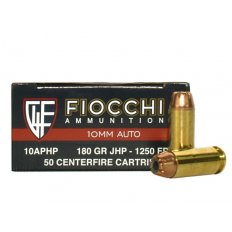 Fiocchi Shooting Dynamics 10mm Auto 180 Gr. Jacketed Hollow Point- Box of 50 10APHP