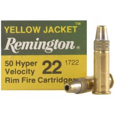 Remington Yellow Jacket .22 Long Rifle 33 Gr. Plated Truncated Cone Hollow Point- Box of 50