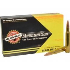 Black Hills .270 Winchester 130 Gr.Barnes TSX Hollow Point Boat Tail- Lead-Free- 1C270BHGN1