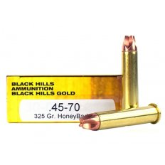 Black Hills .45-70 Government 325 Gr. Solid Copper HoneyBadger- Lead-Free- Box of 20 1C4570N4