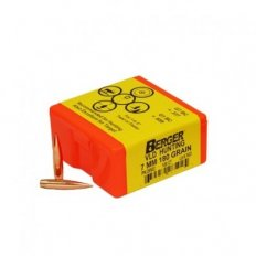 Berger Bullets 7mm Caliber (.284 Diameter) 168 Gr. Hunting VLD Hollow Point Boat Tail-28502