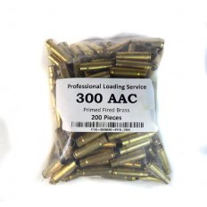 ProLoading .300 AAC Blackout Primed Fired Brass- 300AACPRIMED-200
