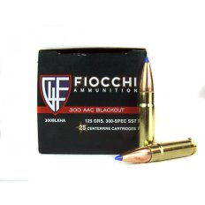 Fiocchi Extrema .300 AAC Blackout 125 Gr. Hornady SST- 300BLKHA