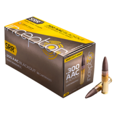 Polycase Inceptor Short Range Rifle .300AAC 88 Gr. SRR- Lead Free- Box of 20