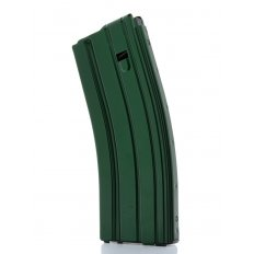 C Products Defense AR-15 .223 Remington 30-Round Magazine with Black Anti-Tilt Follower- Stainless Steel-3023006175CPD