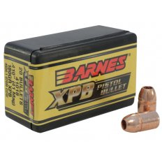 Barnes Bullets .41 Caliber (.410 Diameter) 180 Gr. XPB Solid Copper Hollow Point- Lead-Free- 30512-Barnes