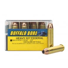 Buffalo Bore .327 Federal Magnum 100 Gr. Jacketed Hollow Point- Box of 20 37A/20