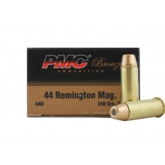 PMC Bronze .44 Remington Magnum 240 Gr. Truncated Soft Point-44D