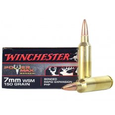 Winchester Power Max Bonded .7mm Winchester Short Magnum (WSM) 150 Gr. Protected Hollow Point X7MMWSMBP