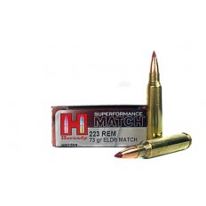 Hornady Superformance Match .223 Remington 73 Gr. ELD Match- 80259