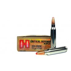 Hornady Critical Defense .223 Remington 73 Gr. Flex Tip eXpanding- 80260